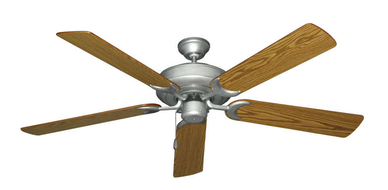"Picture of Raindance Brushed Nickel BN-1 with 56"" Oak Blades"