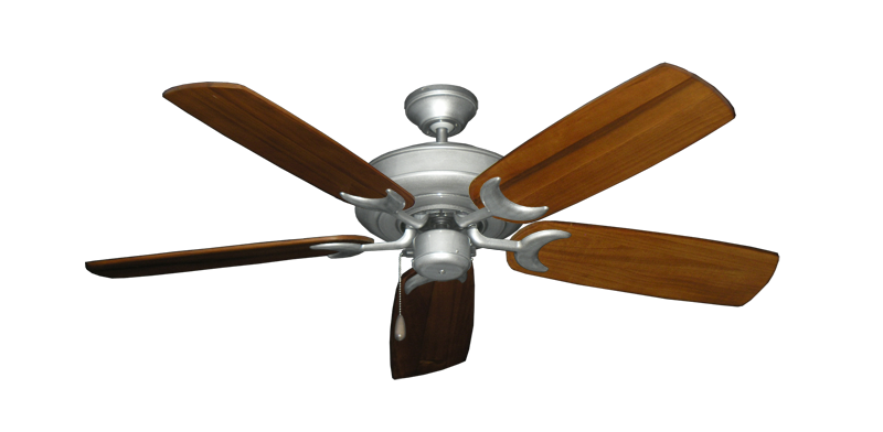 "Picture of Raindance Brushed Nickel BN-1 with 52"" Series 425 Arbor Oak Blades"