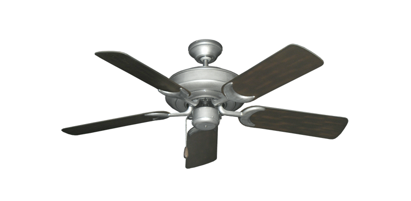 "Picture of Raindance Brushed Nickel BN-1 with 44"" Outdoor Oil Rubbed Bronze Blades"