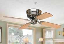 Picture of 42'' Hugger Ceiling Fan in Brushed Nickel