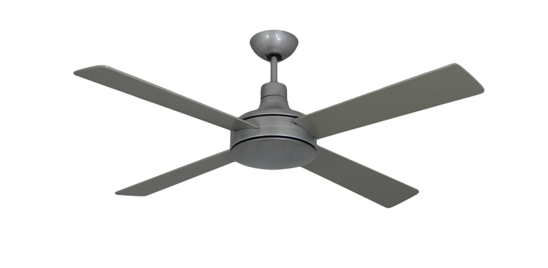 Picture of Quantum II 52 in. Brushed Nickel BN-1 Ceiling Fan w/Remote