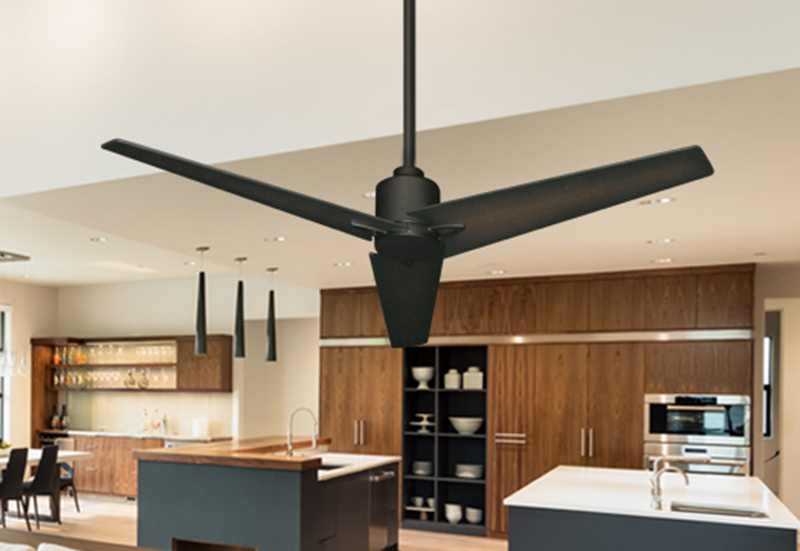 """Picture of Reveal 52"""" WiFi Enabled Indoor/Outdoor Modern Ceiling Fan in Oil Rubbed Bronze with Remote"""