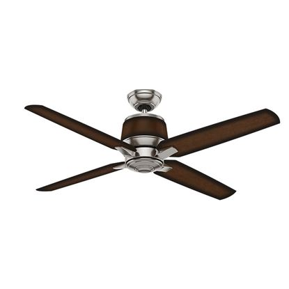 "Casablanca  54"" Aris Brushed Nickel Ceiling Fan with Wall Control, Model 59123"