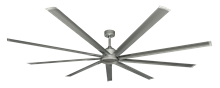 Picture of Liberator 96 in. WiFi Enabled Indoor/Outdoor Brushed Nickel Ceiling Fan and Remote (BN-1)