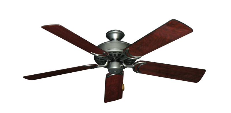 "Picture of Dixie Belle Brushed Nickel with 52"" Cherrywood Gloss Blades"