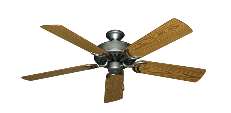 """Picture of Dixie Belle Brushed Nickel with 52"""" Oak Blades"""