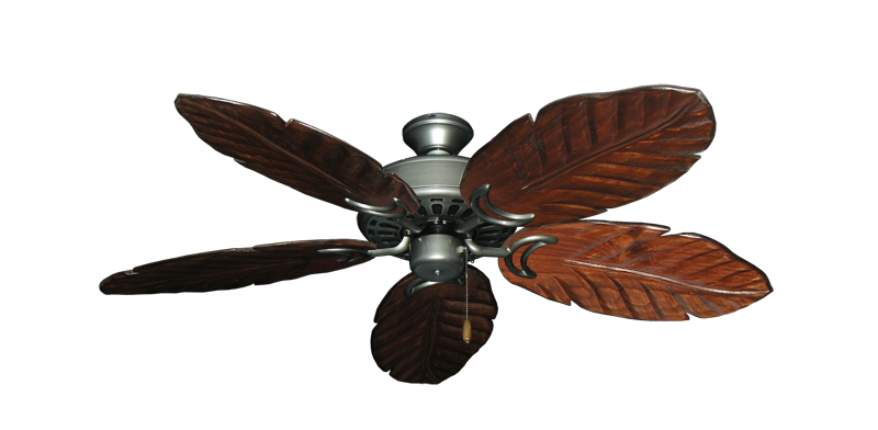 """Picture of Dixie Belle Brushed Nickel with 52"""" Series 125 Arbor Cherrywood Blades"""