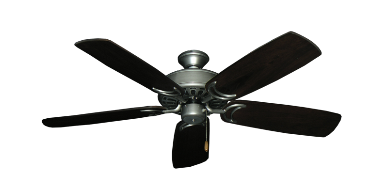 """Picture of Dixie Belle Brushed Nickel with 52"""" Series 425 Arbor Dark Walnut Blades"""