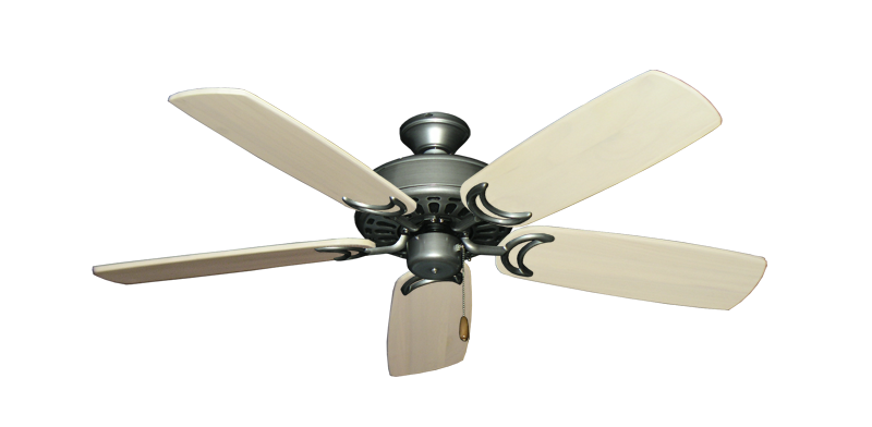 "Picture of Dixie Belle Brushed Nickel with 52"" Series 425 Arbor Whitewash Blades"