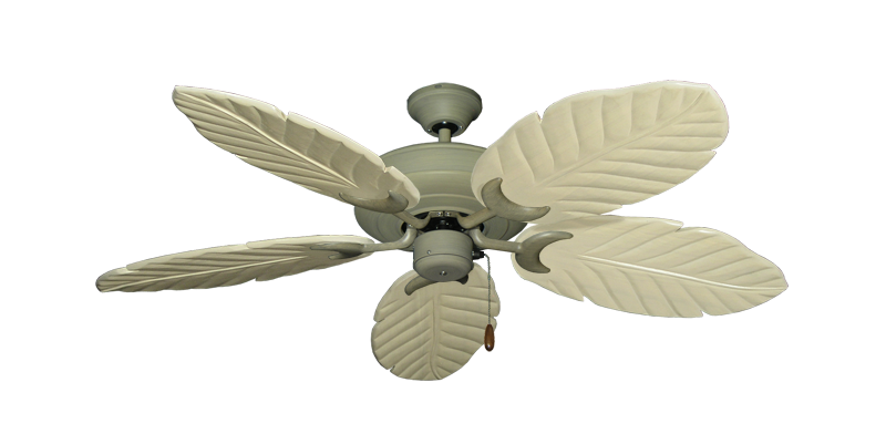 """Picture of Raindance Driftwood with 52"""" Series 125 Arbor Whitewash Blades"""