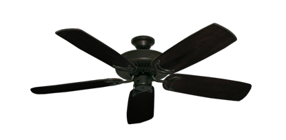 "Picture of Riviera Oil Rubbed Bronze with 52"" Series 425 Arbor Dark Walnut Blades"