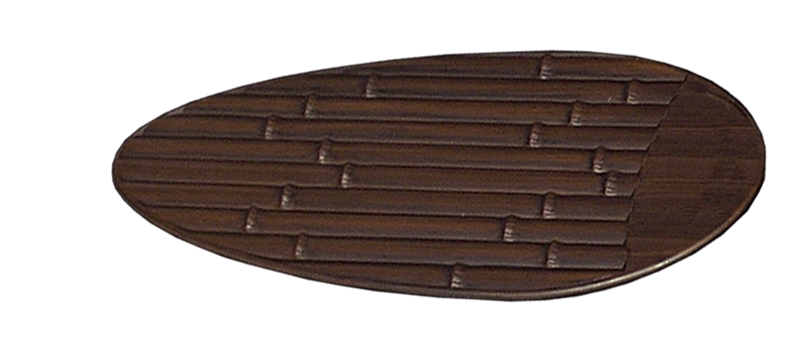 """Picture of Replacement 52"""" Outdoor Bamboo Oil Rubbed Bronze Blades (rnd)"""