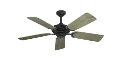 """Coastal Air Oil Rubbed Bronze with 44"""" Driftwood Blades"""