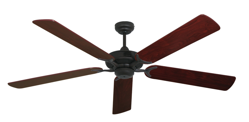 """Picture of Coastal Air Oil Rubbed Bronze with 60"""" Cherrywood Blades"""