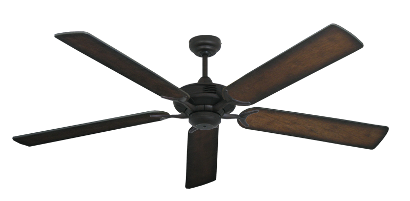 "Picture of Coastal Air Oil Rubbed Bronze with 60"" Distressed Hickory Blades"