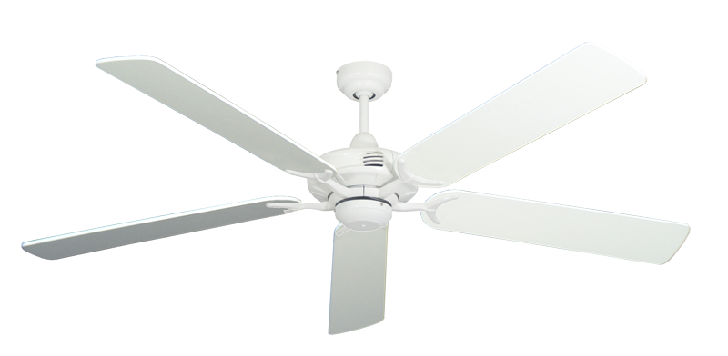 "Picture of Coastal Air Pure White with 60"" Pure White Blades"