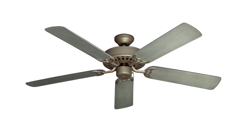 "Picture of Bimini Breeze V Antique Bronze with 52"" Outdoor Brushed Nickel BN-1 Blades"