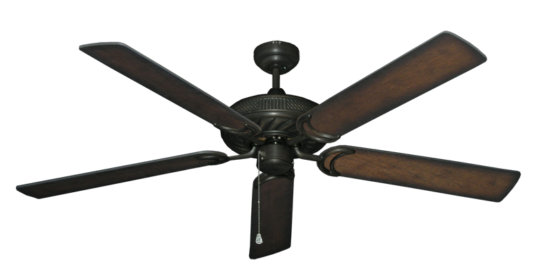 """Picture of Atlantis Oil Rubbed Bronze with 60"""" Distressed Hickory Blades"""