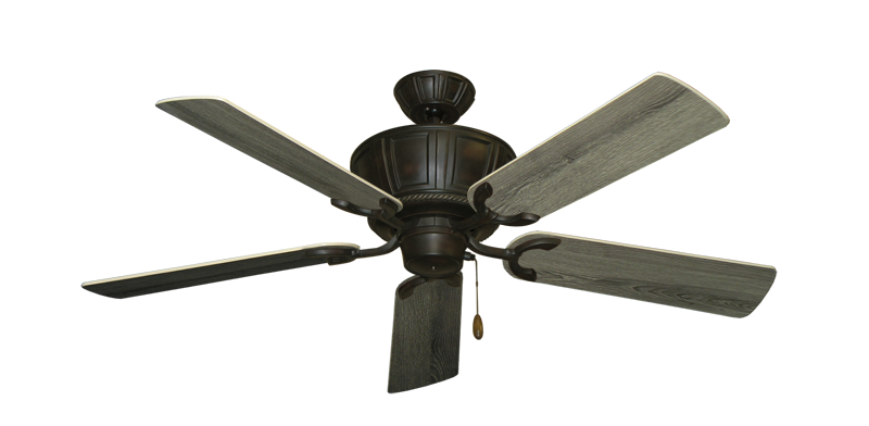 """Centurion Oil Rubbed Bronze with 52"""" Barnwood Blades"""