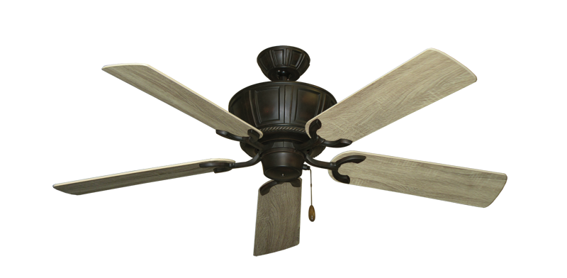 """Picture of Centurion Oil Rubbed Bronze with 52"""" Beachwood Blades"""