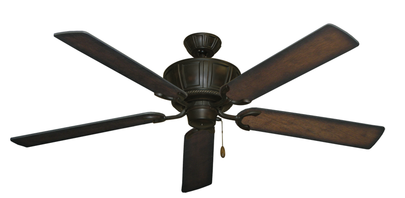 """Picture of Centurion Oil Rubbed Bronze with 60"""" Distressed Hickory Blades"""