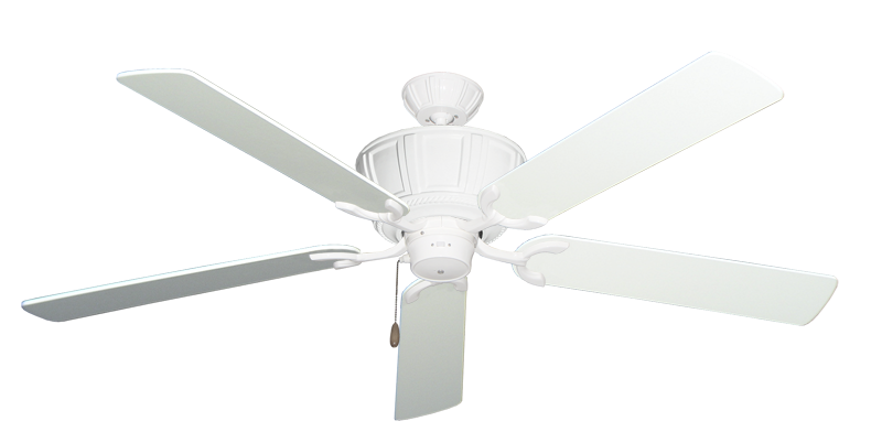 """Centurion Pure White with 60"""" Pure White Blades"""
