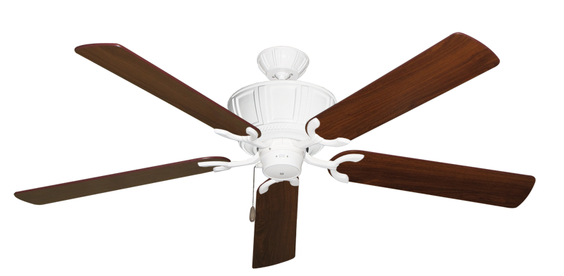 """Picture of Centurion Pure White with 60"""" Walnut Blades"""