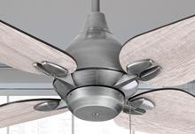 "Reno 50"" Indoor Contemporary Brushed Nickel Ceiling Fan"