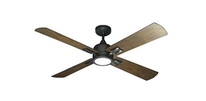 "Captiva Oil Rubbed Bronze with 52"" Walnut Blades"