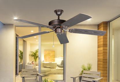 ProSeries Builder 52 in. Outdoor Oil Rubbed Bronze Ceiling Fan