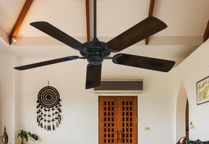 """Coastal Air Oil Rubbed Bronze with 52"""" Outdoor Oil Rubbed Bronze Blades"""