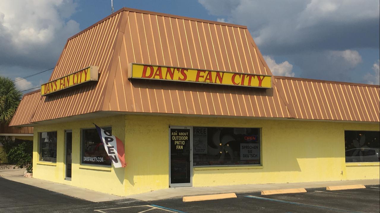 Ceiling Fan Store In Cape Coral Fl Dan S Fan City Dan