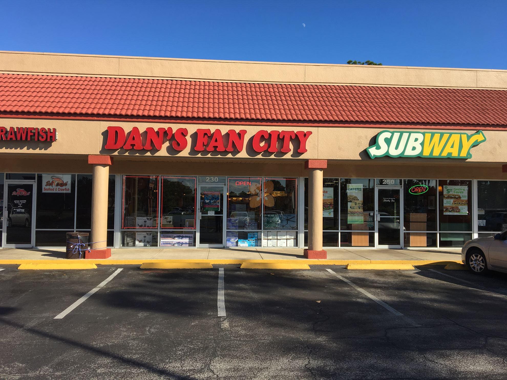 Ceiling Fan Store In Daytona Beach Fl Dan S Fan City