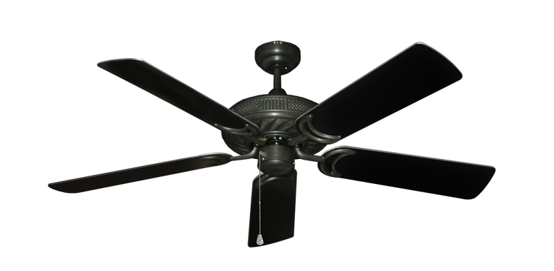 Atlantis Ceiling Fan In Oil Rubbed Bronze With 52 Quot Black