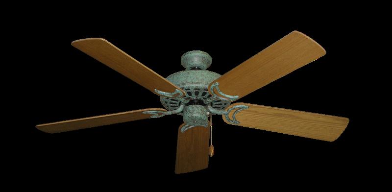 Dixie belle ceiling fan in verde green with 52 light oak blades picture of dixie belle verde green with 52 light oak blades mozeypictures Images