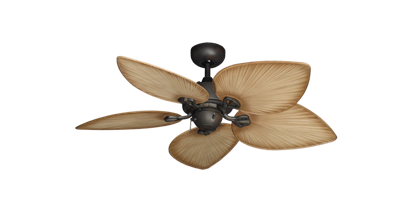 "Picture of 42"" Bombay Oil Rubbed Bronze with 42"" Bombay Tan Blades"