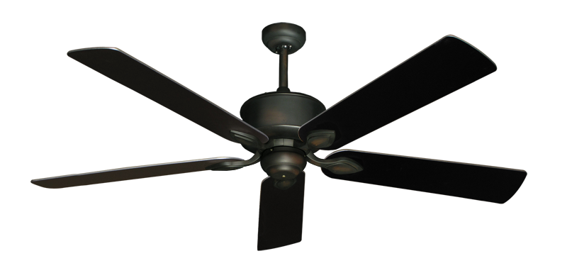 Hercules Ceiling Fan In Oil Rubbed Bronze With 60 Quot Black