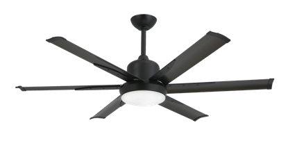 Picture of DC-6 52 in. Indoor/Outdoor Oil Rubbed Bronze Ceiling Fan and Light
