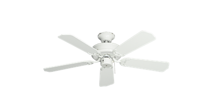 "Picture of 42"" Bermuda Breeze Ceiling Fan in Pure White"