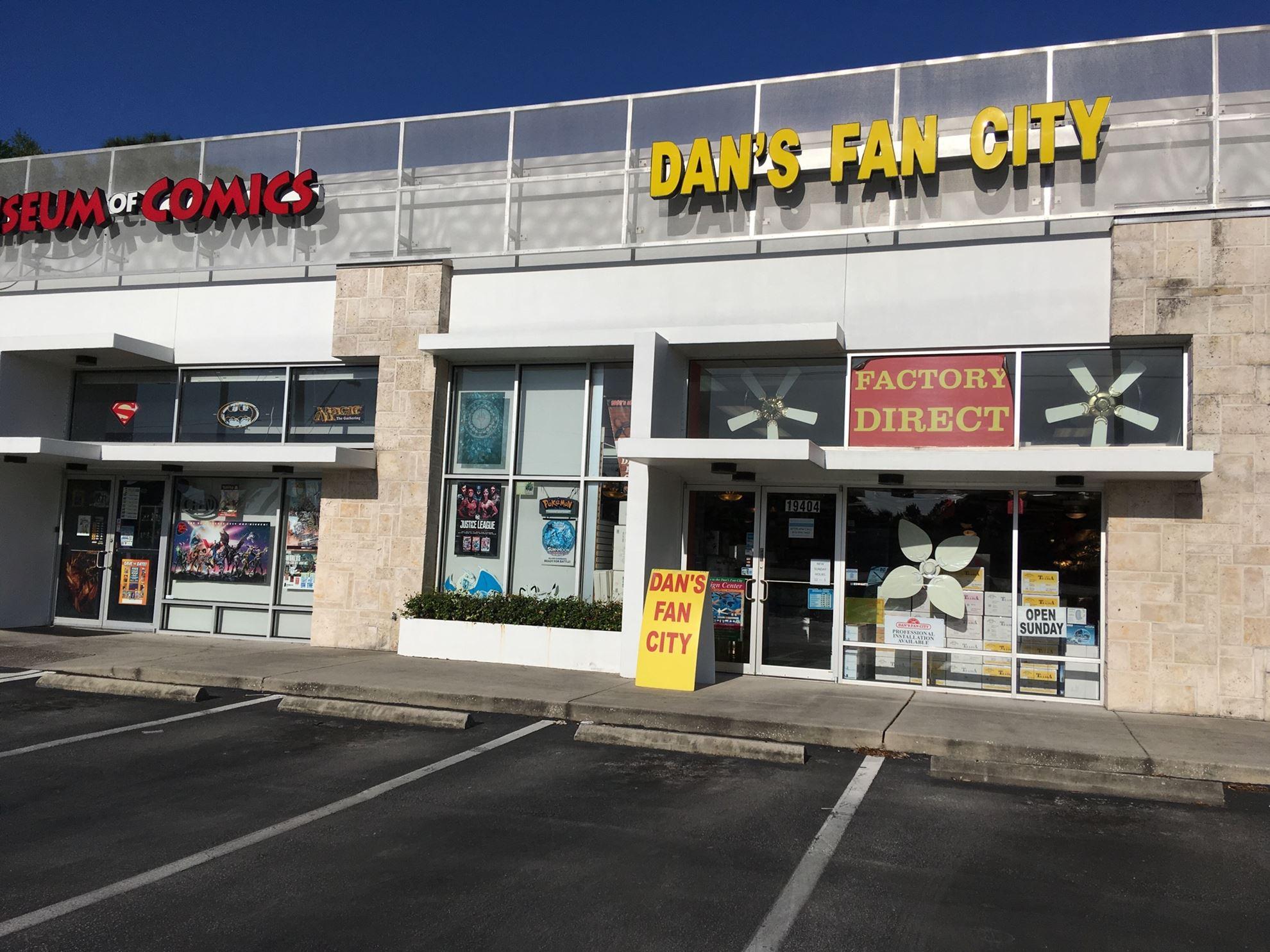 Ceiling Fan Store In New Tampa Fl Dan S Fan City Dan