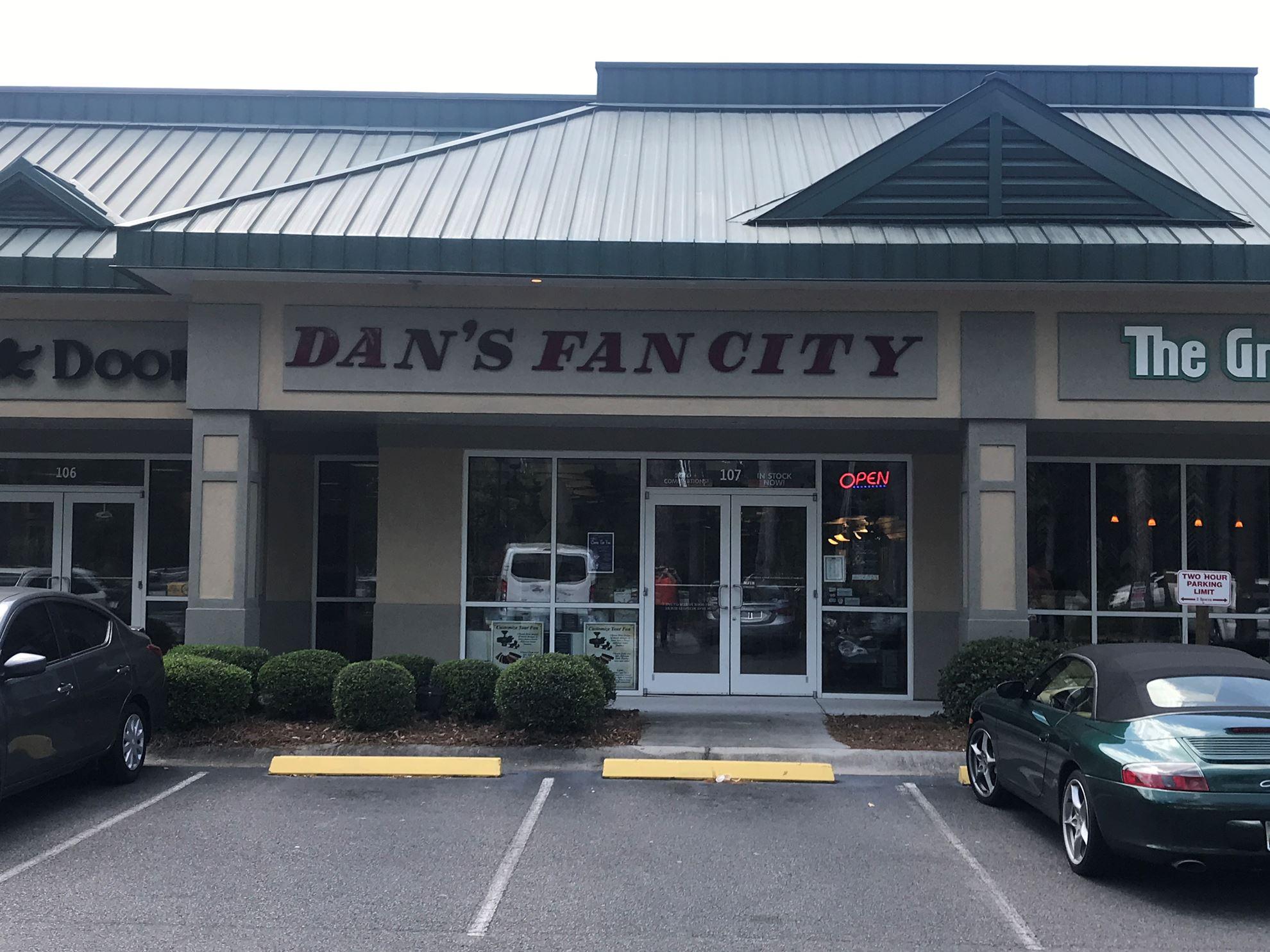 Ceiling Fan Store In Bluffton Sc Dan S Fan City Dan S
